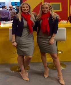 uk exhibition hostesses at the NEC